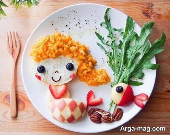 تزیین با مزه غذای کودک