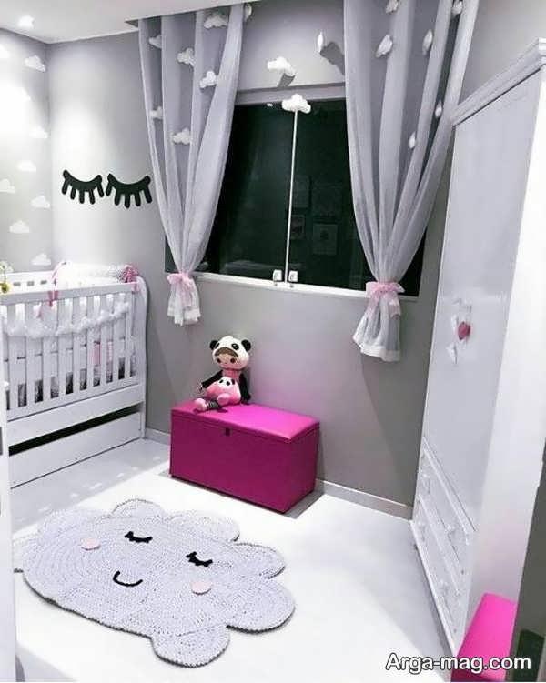 پرده زیبای اتاق بچگانه