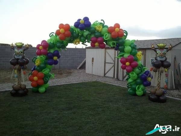 تزیینات جشن تولد با بادکنک
