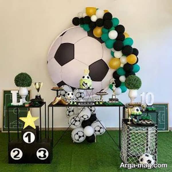 تم تولد پسرانه فوتبالی خاص