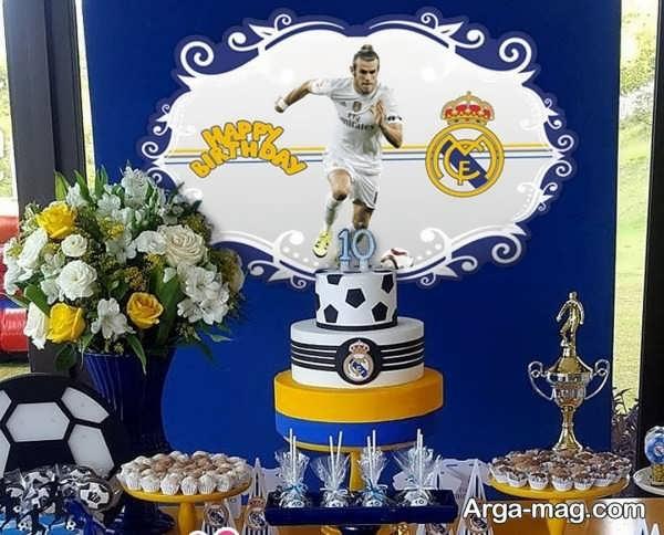 جدیدترین تم تولد فوتبالی برای پسران