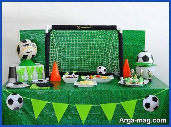 جذاب ترین تم تولد فوتبالی برای پسران