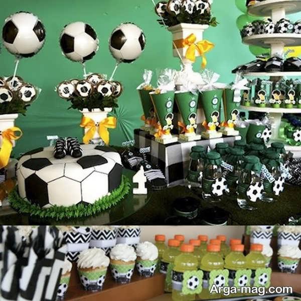 تم تولد فوتبالی جذاب برای پسران