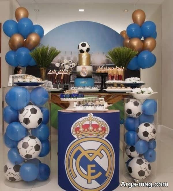 تم تولد فوتبالی قشنگ برای پسران
