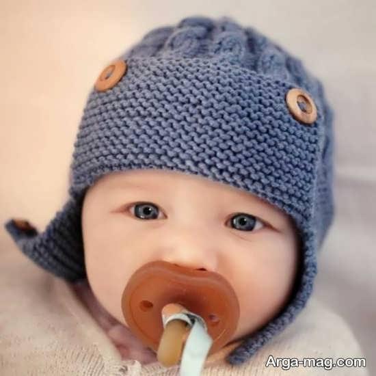 کلاه بافت پسرانه