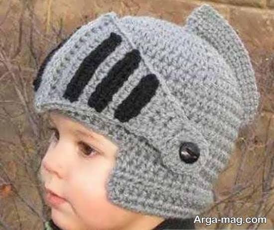 مدل کلاه بافت پسرانه