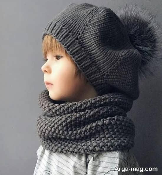 کلاه بافتنی پسرانه شیک
