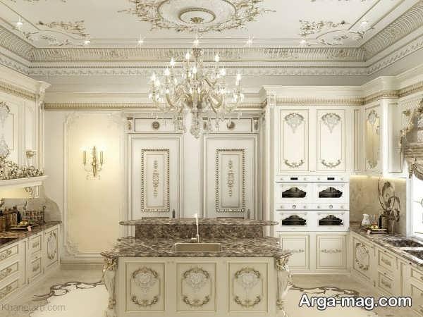 کابینت کلاسیک با جدیدترین طراحی