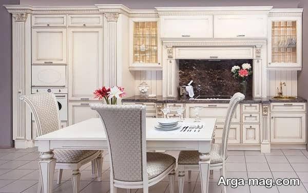 انواع مدل کابینت جدید برای آشپزخانه مدرن
