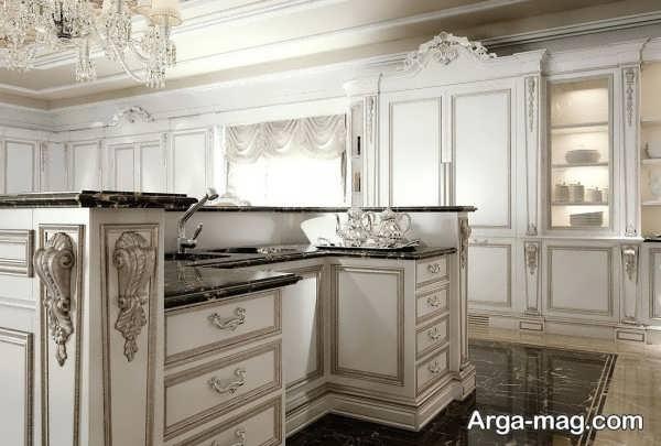کابینتهای آشپزخانه کلاسیک