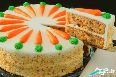 طرز تهیه کیک هویج خوش طعم و خوشمزه