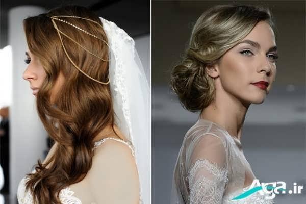 مدل های آرایش موی عروس