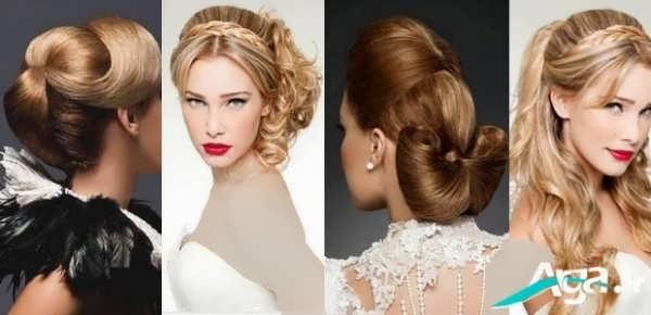 مدل کلاسیک موی عروس