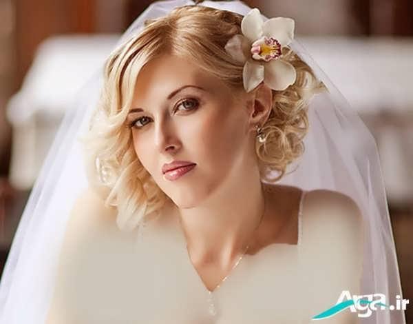 مدل آرایش موی عروس ویژه سال 2016