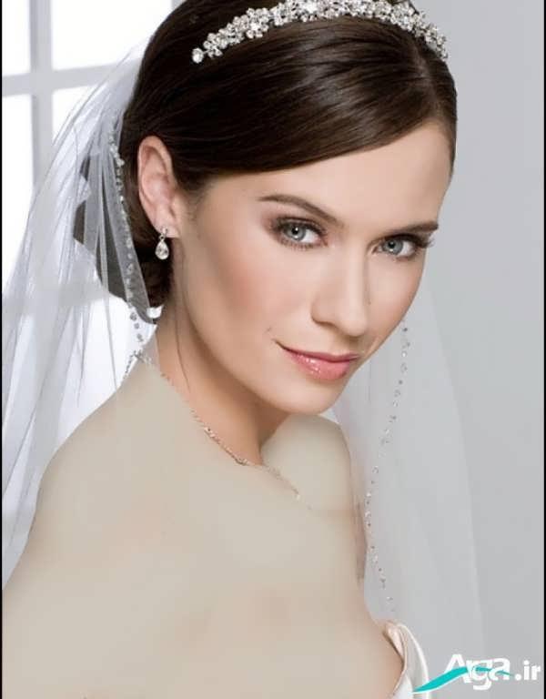 مدل شینیون عروس