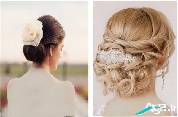 شینیون کلاسیک موی عروس 2016