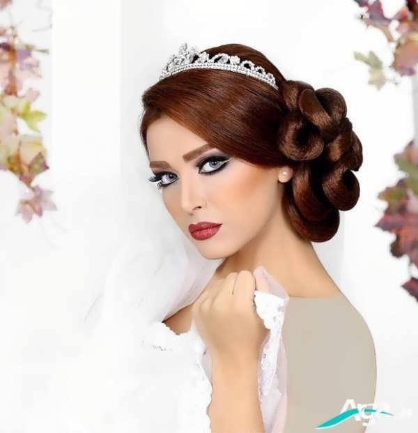 شینیون بسته موی عروس