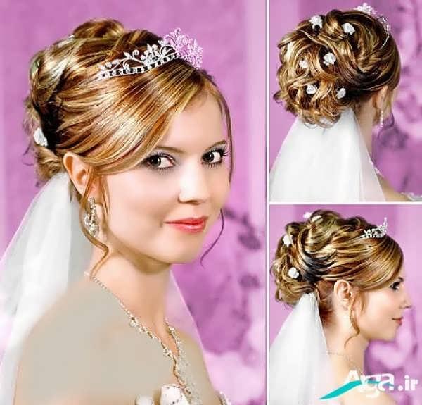انواع مدل های شینیون عروس 2016
