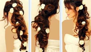 شینیون موی بلند