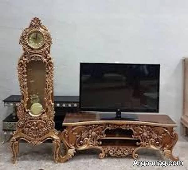 میز tv کلاسیک سلطنتی