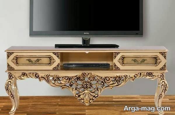 میز تلویزیون کلاسیک جدید