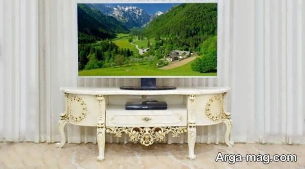 مدل میز tv کلاسیک