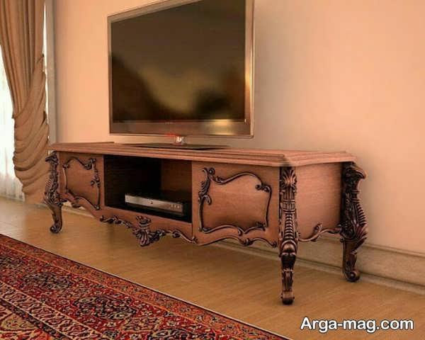 میز tv کلاسیک خاص