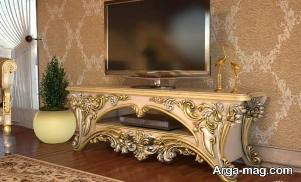 میز tv کلاسیک زیبا
