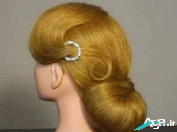 مدل شینیون مو به سبک کلاسیک
