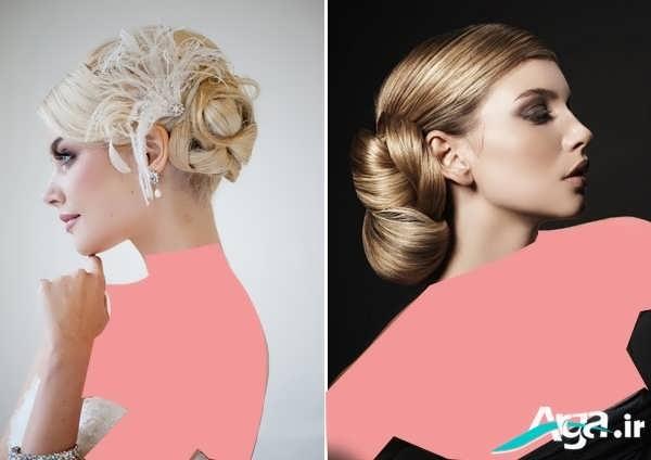 مدل های متنوع آرایش موی کلاسیک