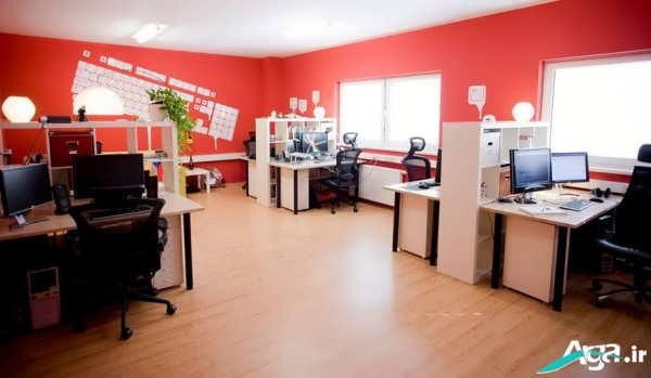 طراحی جدید دکوراسیون داخلی دفتر کار