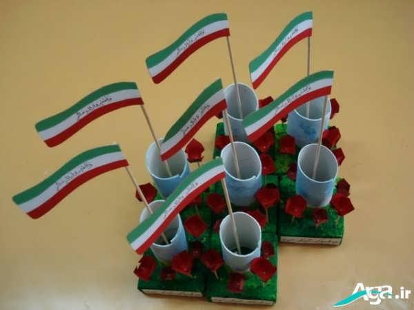 کاردستی برای پیروزی انقلاب