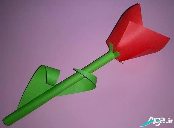 گل لاله کاغذی