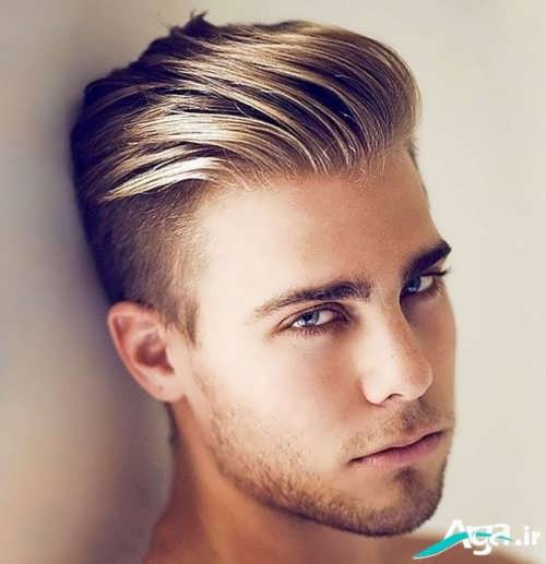 کوتاهی مو پسرانه مدل خامه ای