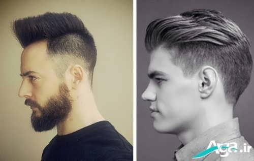 مدل های موی خامه ای