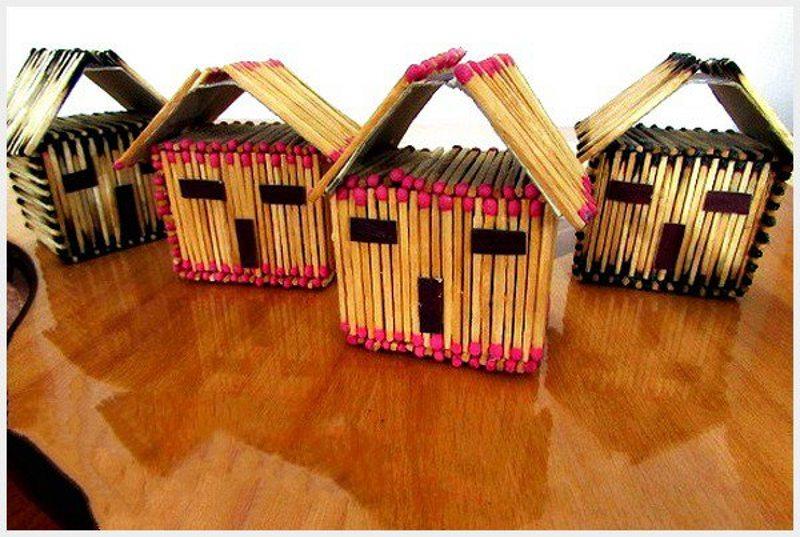کاردستی های باربی مدل های کاردستی با چوب کبریت خلاقانه و جدید