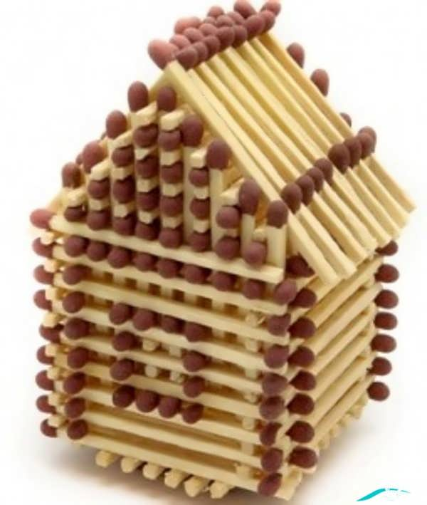 مدل کاردستی برای کودکان با چوب