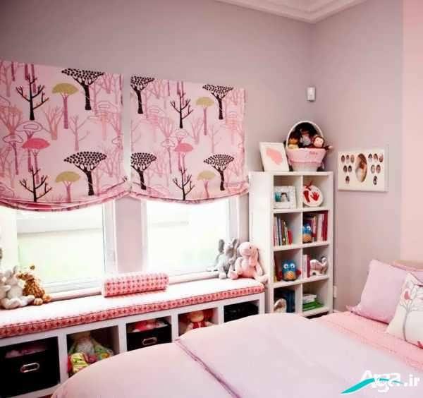 پرده برای اتاق کودک دختر