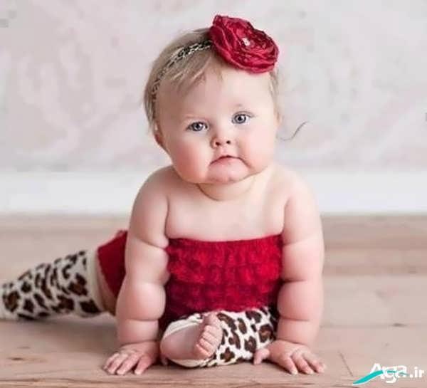عکس دختر بچه بامزه