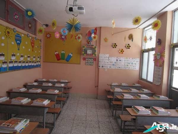 تزیین جدید کلاس پیش دبستانی