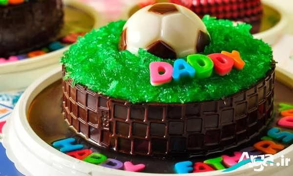 کیک با روکش ژله ای