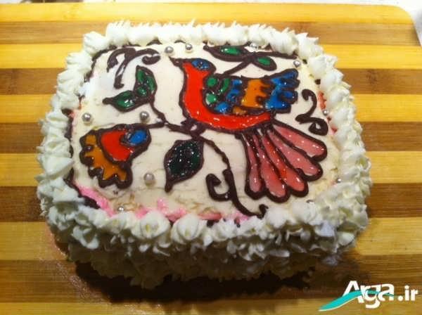 انواع تزیینات کیک تولد با ژله