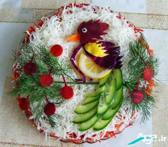 تزیین برنج با ایده خلاقانه