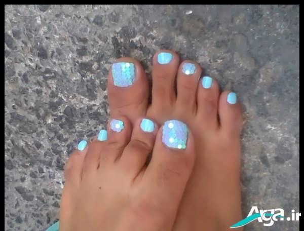 دیزان و طراحی ناخن پا