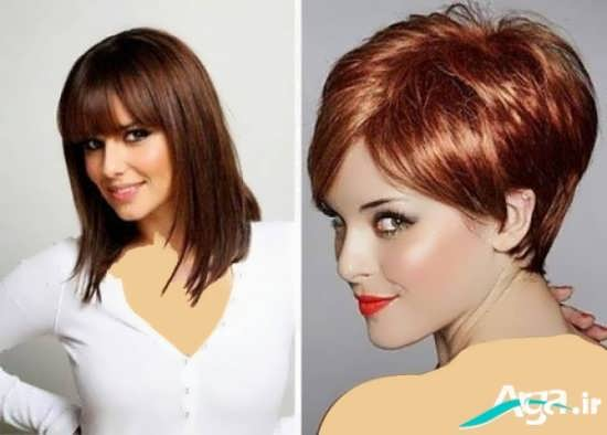 انواع مدل های کوتاهی موی مصری