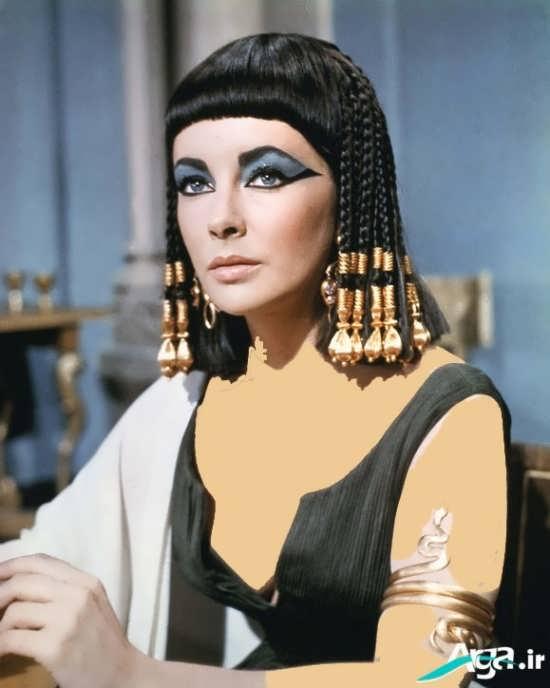 مدل موی مصری مشکی