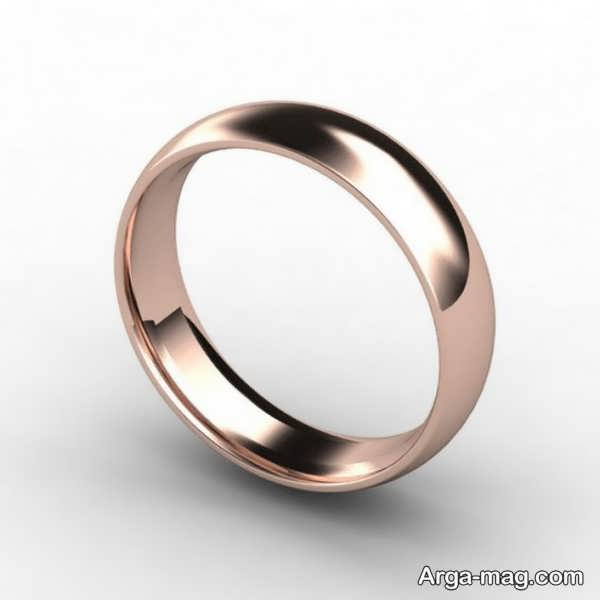 حلقه نامزدی ساده مردانه