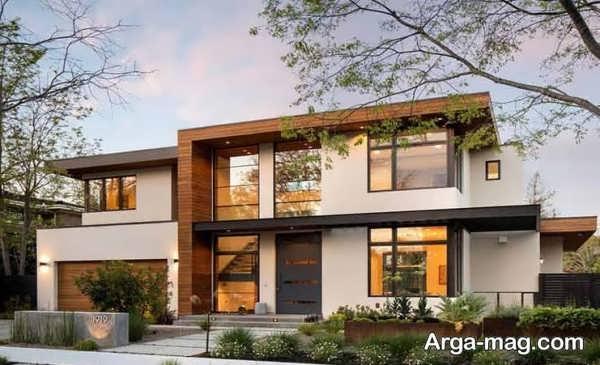 نمای بیرونی خانه های زیبای دوبلکس