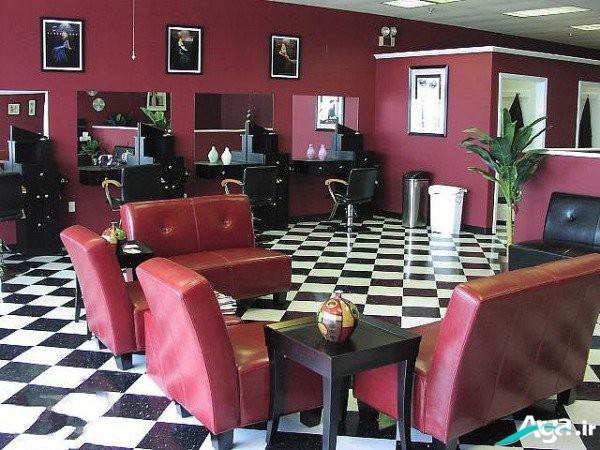 عکس دکور آرایشگاه زنانه شیک