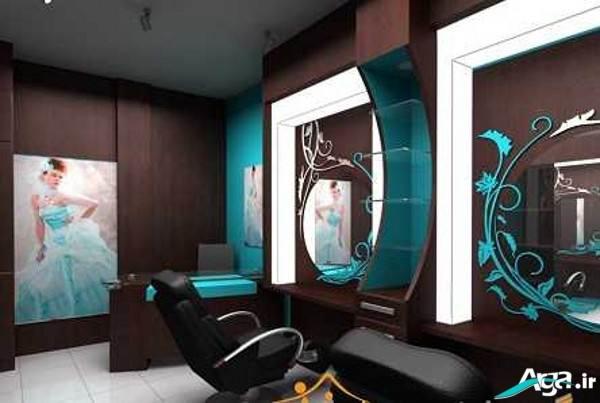 دکوراسیون شیک آرایشگاه زنانه